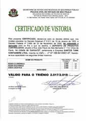 CERTIFICADO DE VISTORIA