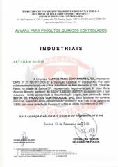 ALVARÁ DE INDUSTRIAIS